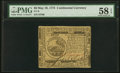 Colonial Notes:Continental Congress Issues, Continental Currency May 10, 1775 $6 PMG Choice About Unc ...