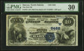 National Bank Notes:North Dakota, Harvey, ND - $10 1882 Date Back Fr. 545 The First National Bank Ch. # (W)5488 PMG Very Fine 30.. ...