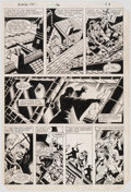 Original Comic Art:Panel Pages, Gene Day Master of Kung Fu #116 Story Page 9 Original Art (Marvel Comics, 1982). ...