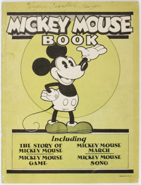 Mickey Mouse Book - Later Printing (Bibo & Lang, 1931) Condition: Apparent VG/FN
