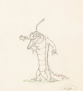 Animation Art:Production Drawing, Fantasia Ben Ali Gator Animation Drawing (Walt Disney, 1940). . ...