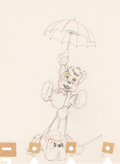 Animation Art:Production Drawing, The Country Cousin Animation Drawing (Walt Disney, 1936). . ...