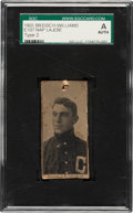 Baseball Cards:Singles (Pre-1930), 1903 E107 Breisch-Williams (Type 2) Napoleon Lajoie SGC Authentic. ...