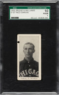Baseball Cards:Singles (Pre-1930), 1903 E107 Breisch Williams Ned Garvin (Blank Back) SGC 10 Poor 1. ...