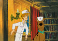 Animation Art:Color Model, The 13 Ghosts of Scooby Doo Scooby and Shaggy Production Cel Setup (Hanna-Barbera, 1985). ...