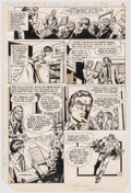 Original Comic Art:Panel Pages, Irv Novick and Dennis Jensen DC Comics Presents #69 Story Page 2 Original Art Superman (DC Comics, 1984)....