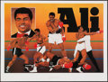 Boxing Collectibles:Autographs, Muhammad Ali Signed Limited Edition Lithograph....