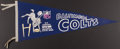 Football Collectibles:Others, 1969 Baltimore Colts Super Bowl III Pennant....