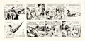 Original Comic Art:Comic Strip Art, Dan Barry and Bob Fujitani Flash Gordon Sunday Comic Strip Original Art dated 1-20-80 (King Features Syndicate, 19...