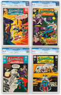 Silver Age (1956-1969):Superhero, Adventure Comics and Superboy CGC-Graded Group of 6 (DC, 1968-75).... (Total: 6 Comic Books)