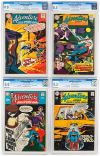 Adventure Comics and Superboy CGC-Graded Group of 6 (DC, 1968-75).... (Total: 6 Comic Books)