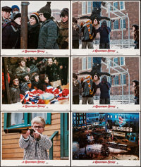 "A Christmas Story (MGM, 1983). Very Fine-. Lobby Cards (6) (11"" X 14""). Comedy. From the Collection of Frank B..."