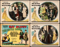 """Movie Posters:Comedy, The Little Snob (Warner Brothers, 1928). Fine/Very Fine. Title Lobby Card & Lobby Cards (3) (11"""" X 14""""). Comedy. From the ... (Total: 4 Items)"""
