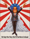 """Movie Posters:Miscellaneous, Richard Nixon (Pandora Productions, 1971). Rolled, Very Fine/Near Mint. Poster (16.75"""" X 22"""") Jack Rickard and Jerry De Fucc..."""