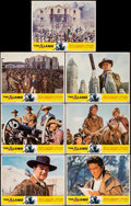 """Movie Posters:Western, The Alamo (United Artists, R-1967). Fine+. Lobby Cards (7) (11"""" X 14""""). Western.. ... (Total: 7 Items)"""
