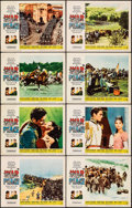 "Movie Posters:Drama, War and Peace (Paramount, R-1963). Fine/Very Fine. Lobby Card Set of 8 (11"" X 14""). Drama.. ... (Total: 8 Items)"