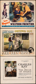 """Movie Posters:Comedy, The Deuce of Spades & Other Lot (First National, 1922). Overall: Fine+. Title Lobby Card & Lobby Cards (2) (11"""" X 14""""). Come... (Total: 3 Items)"""