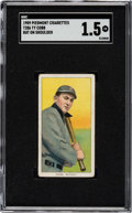 Baseball Cards:Singles (Pre-1930), 1909-11 T206 Piedmont Ty Cobb (Bat On Shoulder) SGC Fair 1.5....