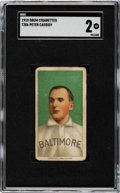 Baseball Cards:Singles (Pre-1930), 1909-11 T206 Drum Peter Cassidy SGC GD 2 - The Only SGC & PSA Graded Example!...