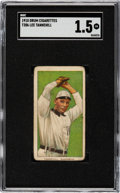 Baseball Cards:Singles (Pre-1930), 1909-11 T206 Drum Jesse Tannehill SGC FR 1.5 - The Only SGC & PSA Graded Example!...