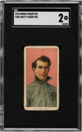 Baseball Cards:Singles (Pre-1930), 1909-11 T206 Drum Matty McIntyre SGC GD 2 - The Only SGC & PSA Graded Example!...