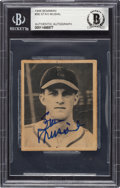Autographs:Sports Cards, Signed 1948 Bowman Stan Musial #36 Beckett Authentic....