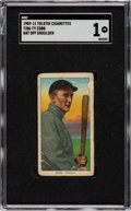 Baseball Cards:Singles (Pre-1930), 1909-11 T206 Tolstoi Ty Cobb (Bat Off Shoulder) SGC PR 1....