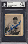 Autographs:Sports Cards, Signed 1948 Bowman Phil Rizzuto #8 Beckett Authentic....