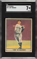 Baseball Cards:Singles (1940-1949), 1941 Play Ball Joe DiMaggio #71 SGC NM 7....