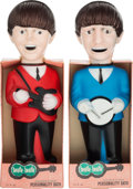 Music Memorabilia:Memorabilia, The Beatles Bubble Bath Dolls (Soakies) both Paul and Ringo Full in Original Boxes (Colgate, 1965). . ...