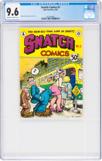 Snatch Comics #3 (Apex Novelties, 1969) CGC NM+ 9.6 Off-white to white pages