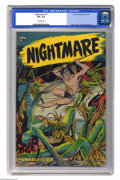 Golden Age (1938-1955):Horror, Nightmare #13 (St. John, 1954) CGC VF+ 8.5 Off-white pages. Bakercover. Tuska and Powell art. CGC hasn't awarded a higher g...