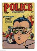 Golden Age (1938-1955):Superhero, Police Comics #82 (Quality, 1948) Condition: GD/VG. Starring Plastic Man. Jack Cole cover and art, plus the Spirit by Lou Fi...