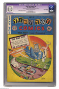 Golden Age (1938-1955):Funny Animal, Tiny Tot Comics #9 (EC, 1947) CGC Apparent 8.0 Slight (A) Cream tooff-white pages. Burton Geller cover and art. CGC notes: ...