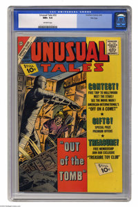 Unusual Tales #32 File copy (Charlton, 1962) CGC NM+ 9.6 Off-white pages. Highest grade yet assigned by CGC for this iss...