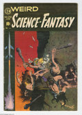 Golden Age (1938-1955):Science Fiction, Weird Science-Fantasy #29 (EC, 1955) Condition: FN. Last pre-codeissue, new logo. Frank Frazetta cover. Wally Wood, Al Will...