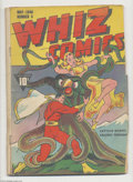Golden Age (1938-1955):Superhero, Whiz Comics #4 and 9 Group (Fawcett, 1940) Condition: PR. While the condition of these books leaves much to be desired, note... (Total: 2 Comic Books Item)
