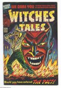 Golden Age (1938-1955):Horror, Witches Tales #19 (Harvey, 1953) Condition: FN+. Devil cover by LeeElias. Bob Powell, Howard Nostrand, Elias, and Jack Spar...