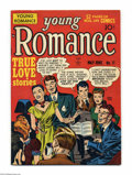 Golden Age (1938-1955):Romance, Young Romance Comics #11 (Prize, 1949) Condition: VF-. Simon andKirby cover and art. Overstreet 2004 VF 8.0 value = $147....