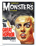 Silver Age (1956-1969):Horror, Famous Monsters of Filmland #17 (Warren, 1962) Condition: VG/FN.Bride of Frankenstein cover by Basil Gogos. Jerry Weist's ...