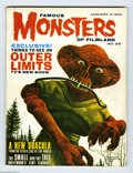 Silver Age (1956-1969):Horror, Famous Monsters of Filmland #26 (Warren, 1964) Condition: FN. OuterLimits cover and article. Jerry Weist notes that this is...