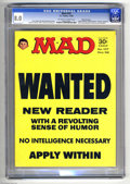 Magazines:Mad, Mad #107 Gaines File pedigree (EC, 1966) CGC VF 8.0 Off-white towhite pages. Comic strip parodies with Bob Clarke art. Othe...
