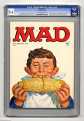 Magazines:Mad, Mad #154 (EC, 1972) CGC NM+ 9.6 Off-white to white pages. NormanMingo cover. Mort Drucker, Don Martin, Al Jaffee, Jack Davi...
