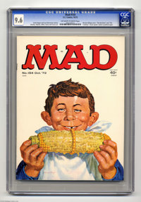 Mad #154 (EC, 1972) CGC NM+ 9.6 Off-white to white pages. Norman Mingo cover. Mort Drucker, Don Martin, Al Jaffee, Jack...