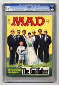 Magazines:Mad, Mad #155 (EC, 1972) CGC NM+ 9.6 Off-white to white pages. Norman Mingo cover. Mort Drucker, Angelo Torres, Dave Berg, Don Ma...