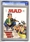 """Magazines:Mad, Mad #156 (EC, 1973) CGC NM+ 9.6 Off-white to white pages. """"Columbo""""and """"Fiddler on the Roof"""" parodies. Norman Mingo cover. ..."""