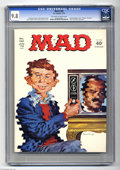 "Magazines:Mad, Mad #160 (EC, 1973) CGC NM/MT 9.8 Off-white to white pages. ""Cannon"" TV spoof. Norman Mingo cover. Jack Davis, DOn MArtin, A..."