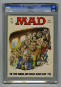"""Magazines:Mad, Mad #176 (EC, 1975) CGC NM+ 9.6 Off-white pages. """"Airport '75"""" and""""The Longest Yard"""" parodies. Mort Drucker cover. Drucker,..."""