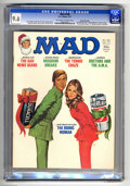 Magazines:Mad, Mad #188 Gaines File pedigree (EC, 1977) CGC NM+ 9.6 Off-white to white pages. Jack Rickard cover featuring the Bionic Woman...