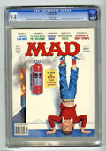 "Magazines:Mad, Mad #206 (EC, 1979) CGC NM/MT 9.8 Off-white pages. ""Heaven Can Wait"" and ""The Eyes of Laura Mars"" parodies. Norman Mingo cov..."
